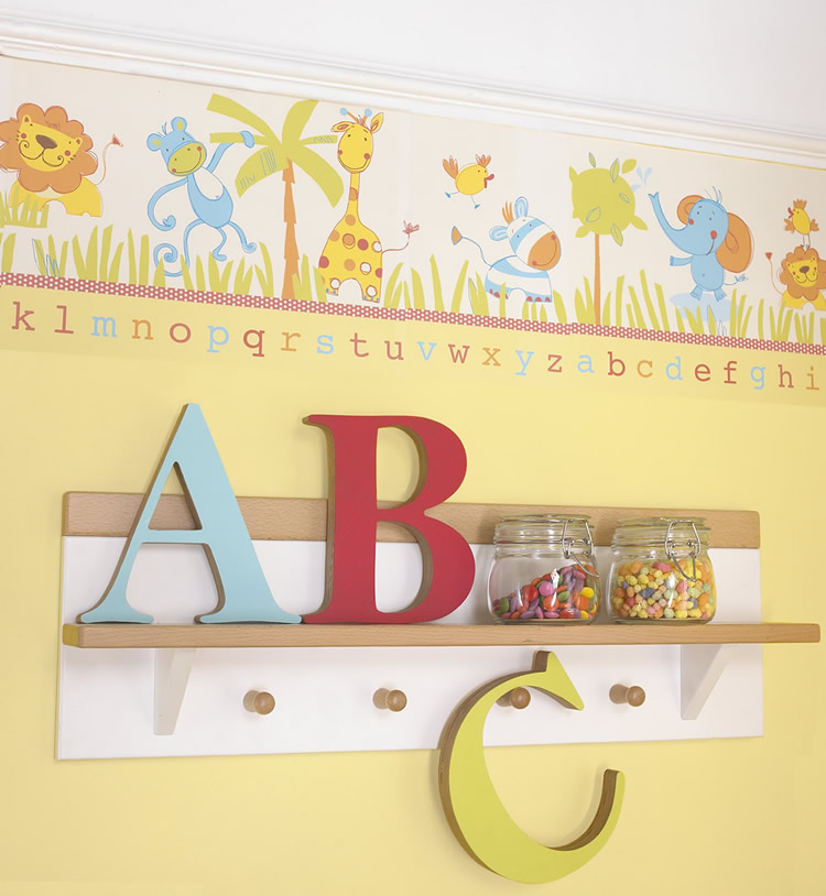 44 Nursery Wallpaper Borders On Wallpapersafari