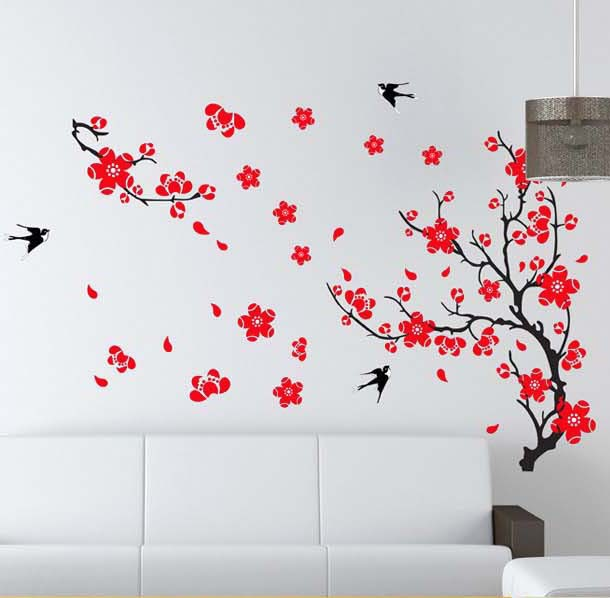 Wallpaper Mural Decal Decor Home Art Removable Craft Wall Stickers DIY 610x598