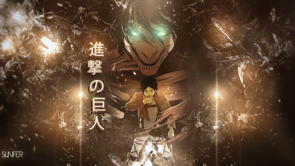 Attack on Titan Shingeki no Kyojin Eren Jaeger Titan Form Anime HD 1024x576