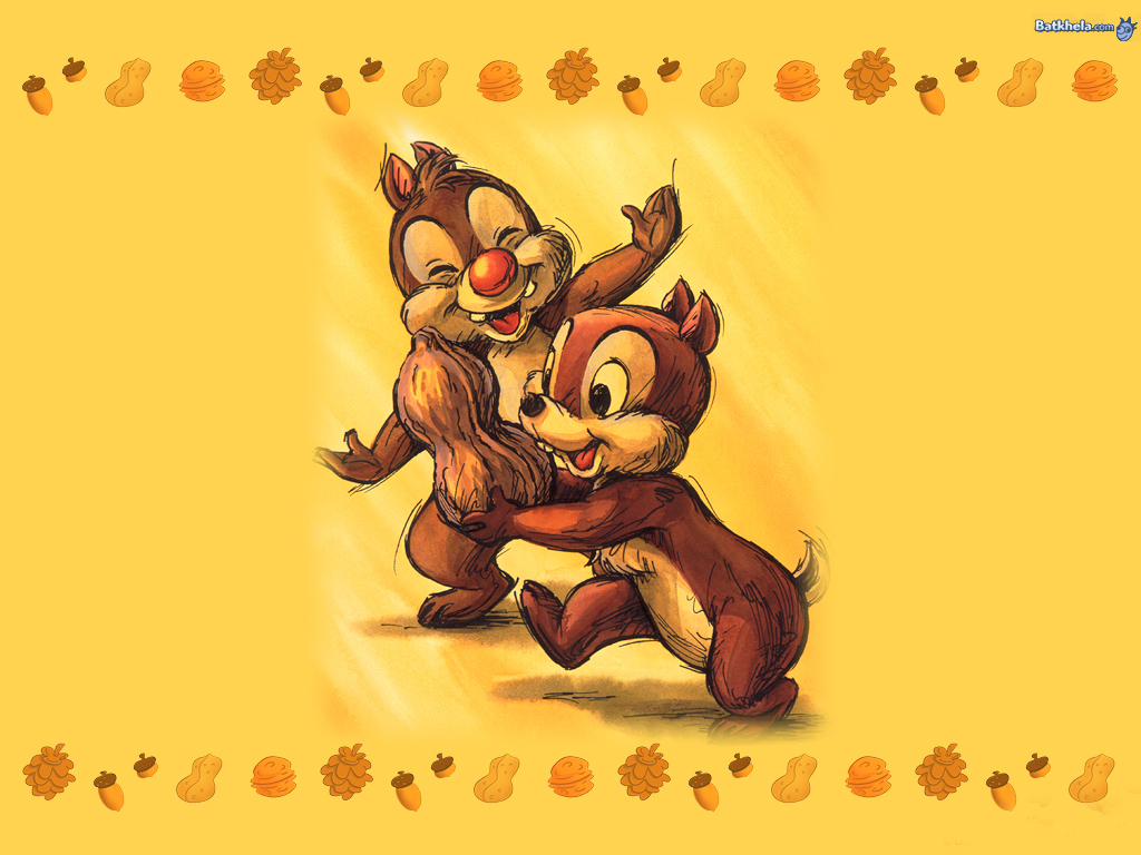 chip n dale   Childhood Memories Wallpaper 250718 1024x768