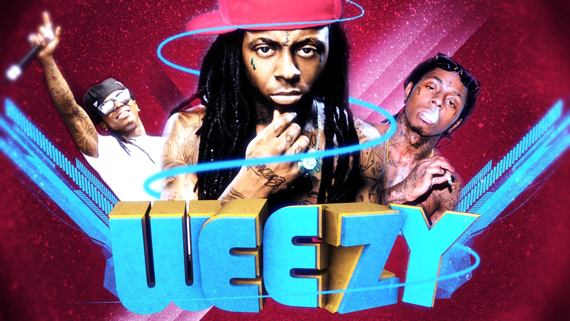Download Lil Wayne HD 22 background for your phone iPhone android 1920x1080