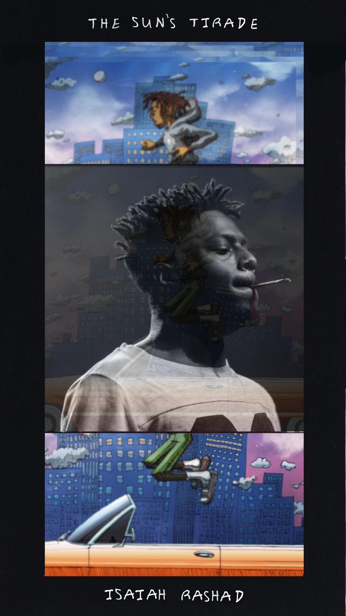 download Isaiah Rashad The Suns Tirade phone wallpaper 1440x2560