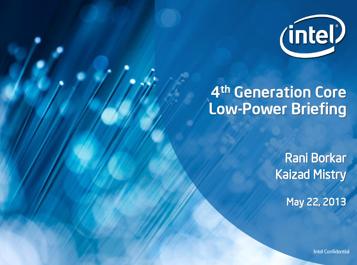 Intel Details 4th Generation Haswell Low Power Architecture 1191x885