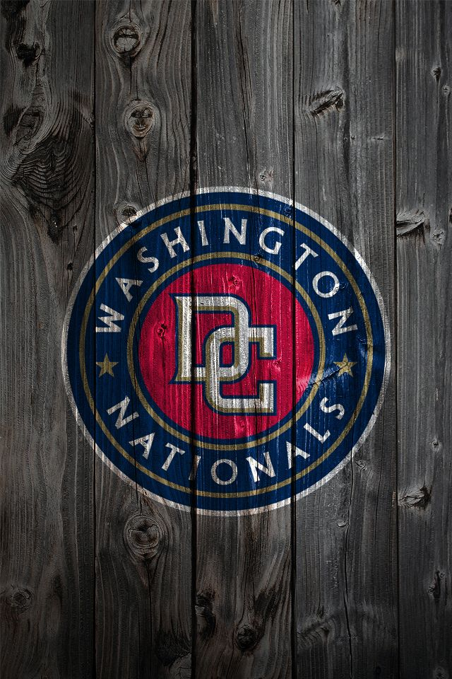 Washington Nationals iPhone Wallpaper Background Hooray for 640x960