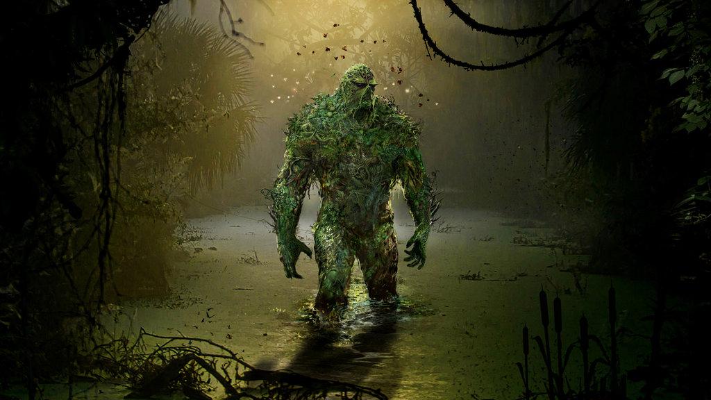 50 Swamp Thing Wallpaper On Wallpapersafari