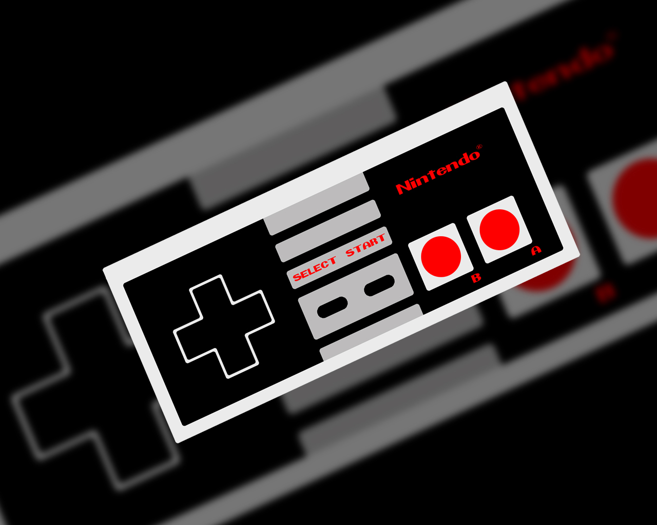 Nes Controller Hd Wallpaper   Viewing Gallery 1280x1024