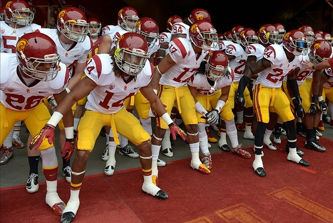 USC Football Leaders Emerge From Spring Game 650x436
