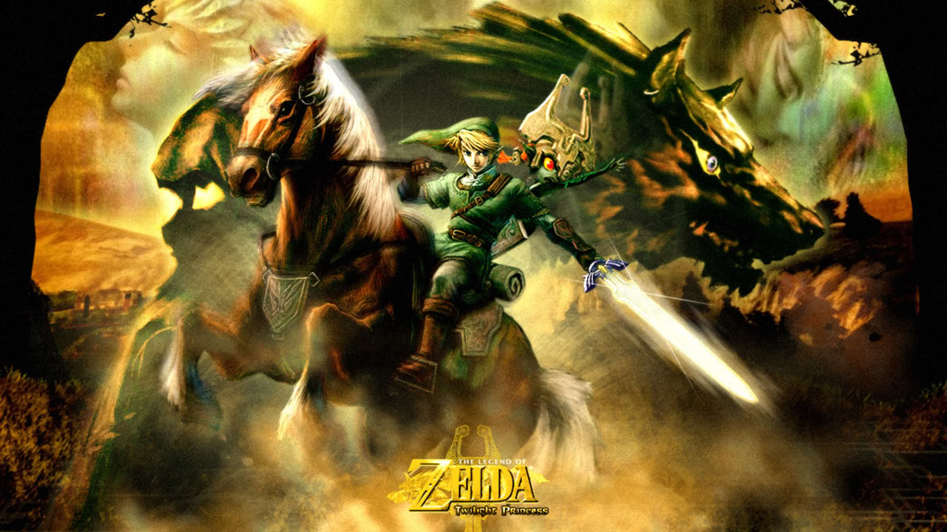 Download Legend of Zelda Wallpaper HD 1366x768