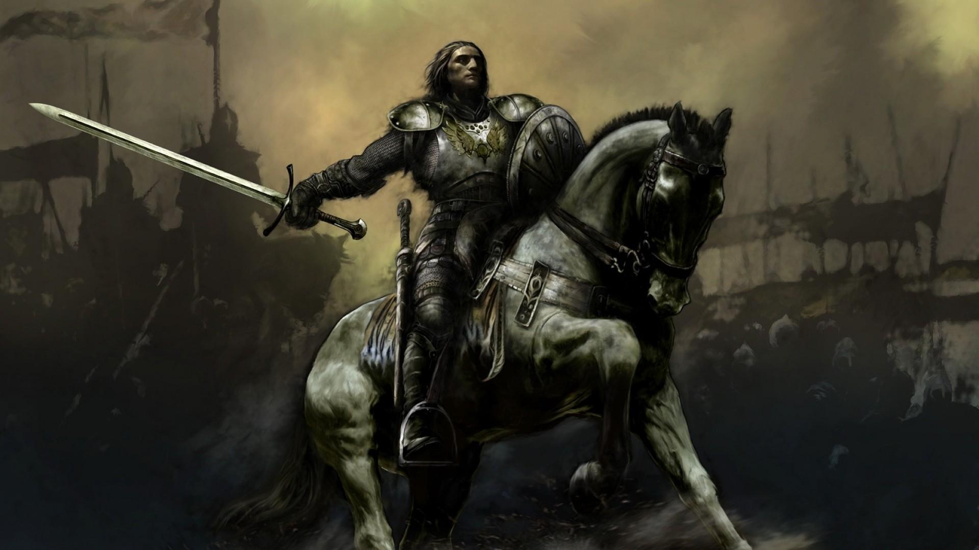 Knights Warriors Wallpaper 1920x1080 Knights Warriors Medieval 1920x1080