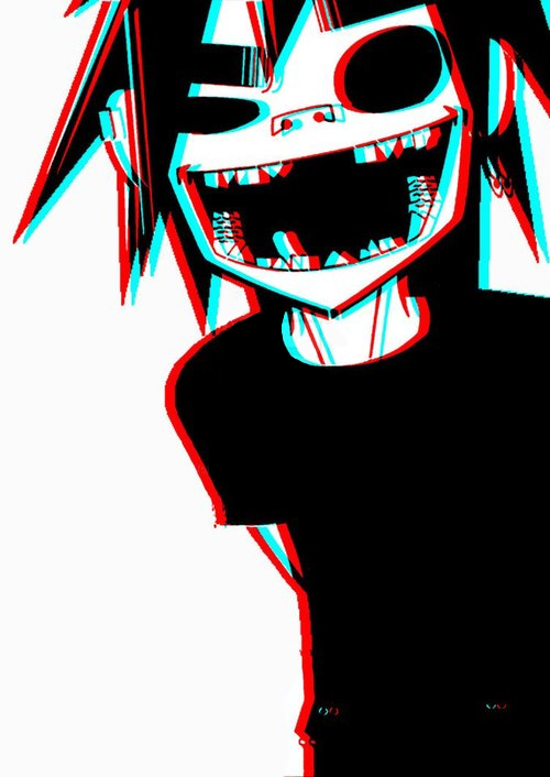 Gorillaz 2d In 3d By 2disgod d68b7i4 by stich17 500x706
