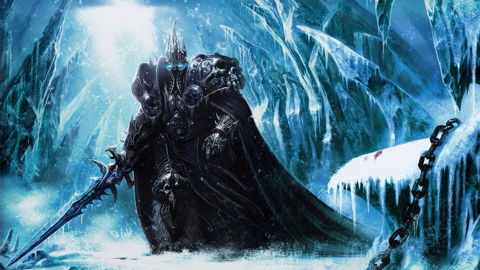 Free Download Fantasy Art Warcraft Arthas Lich King