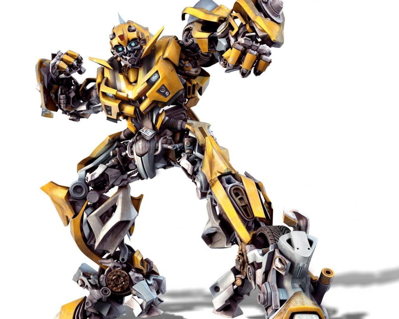 1280x1024 Transformers Bumblebee Artwork desktop PC and Mac wallpaper 1280x1024