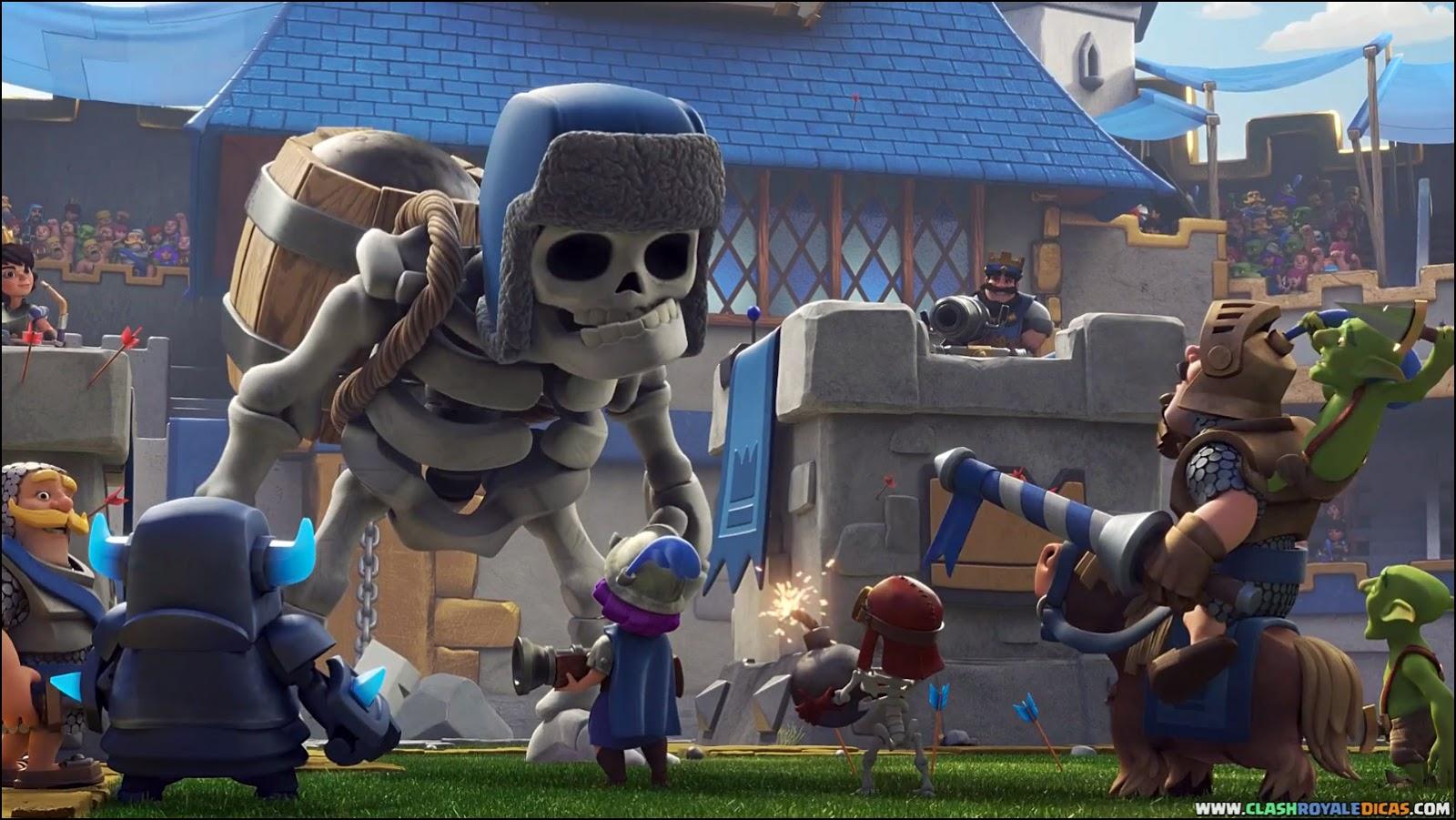 Free download Novo Comercial Esqueleto Gigante Clash ...
