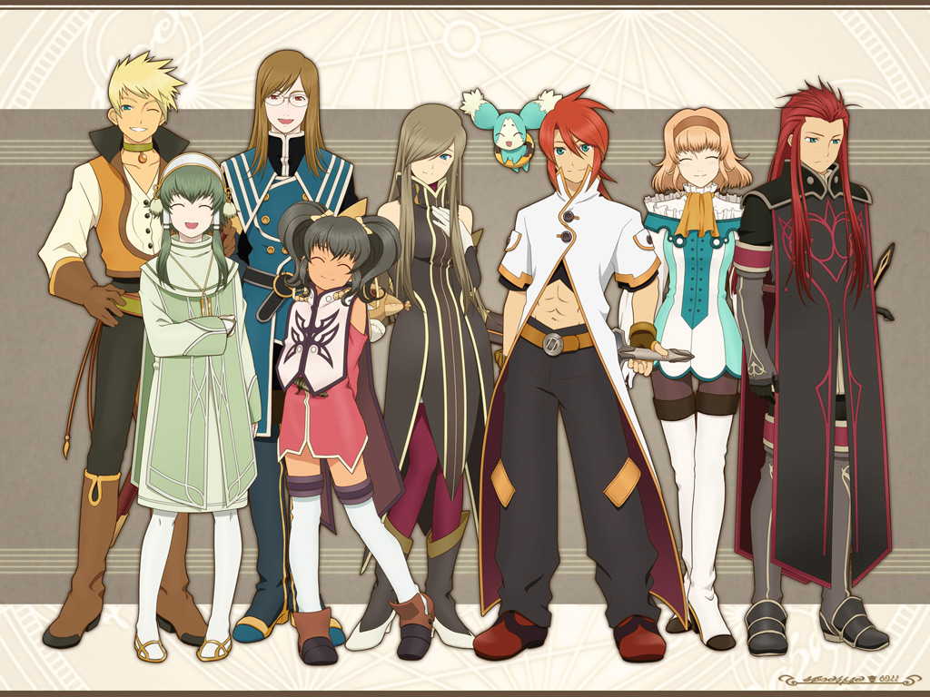 Wallpapers of Tales of the Abyss Anime 1024x768