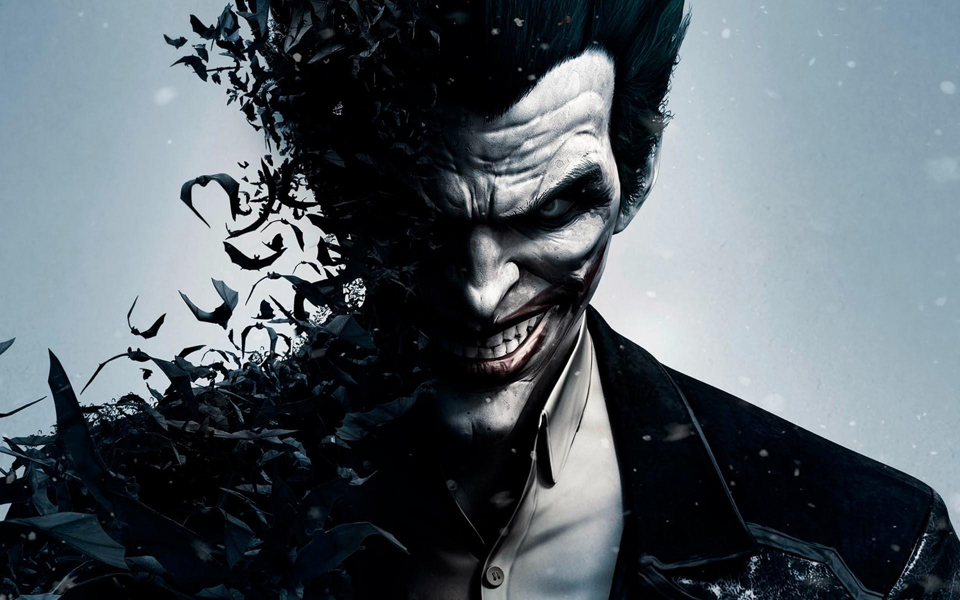 joker batman arkham origins grin smile video game 1920x1200 widescreen 1920x1200