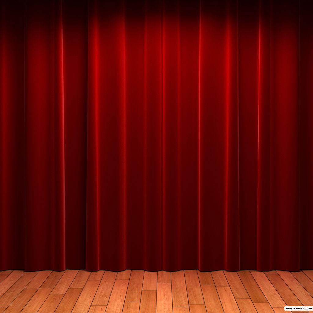 Red stage curtains - Closed Stage Curtains Stage Curtain Wallpaper Wallpapersafari