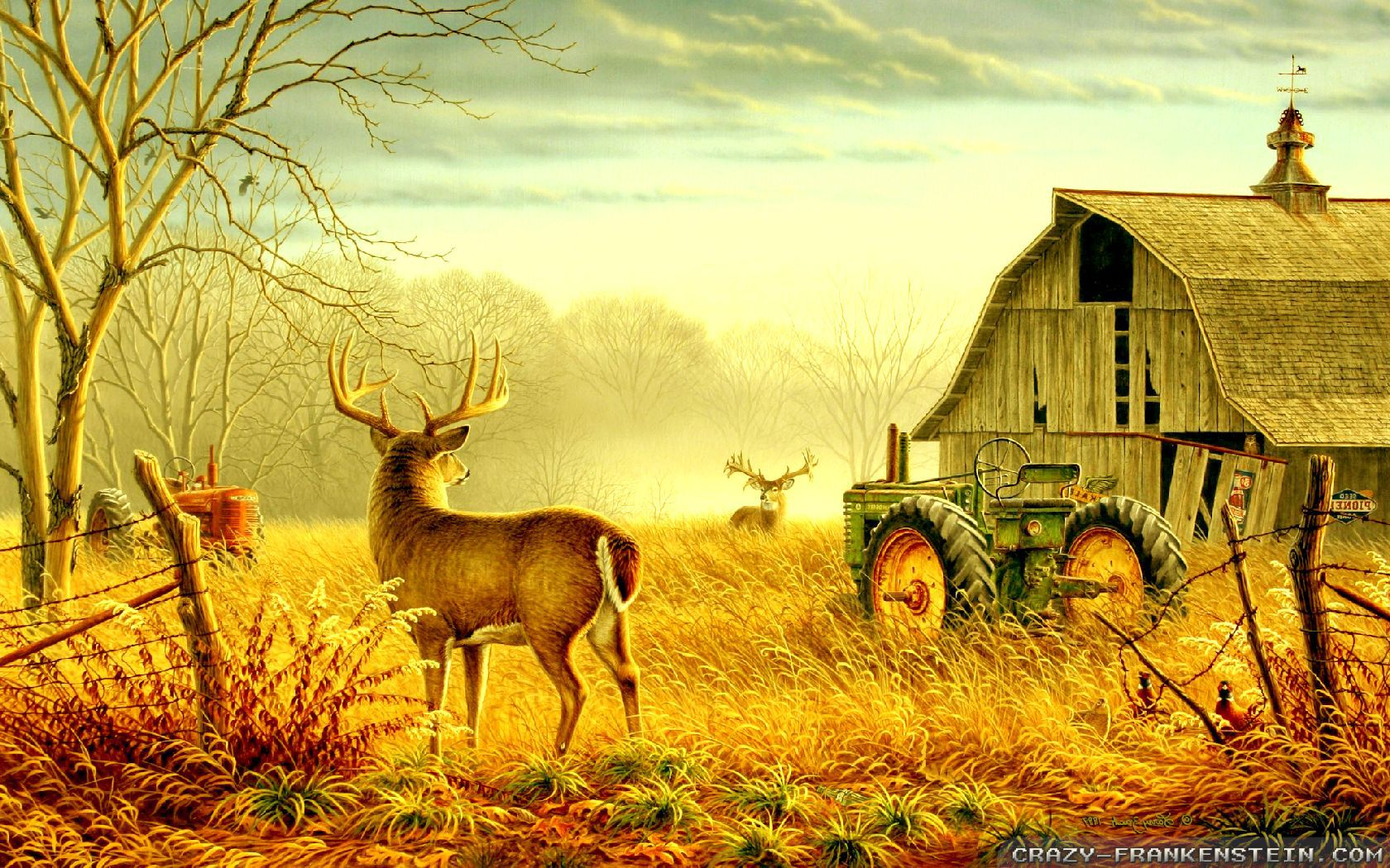 Autumn Scenes wallpapers   Seasonal   Crazy Frankenstein 1680x1050