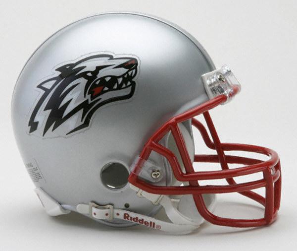 New Mexico Lobos Replica Riddell Mini Helmet Riddell prices online 600x506