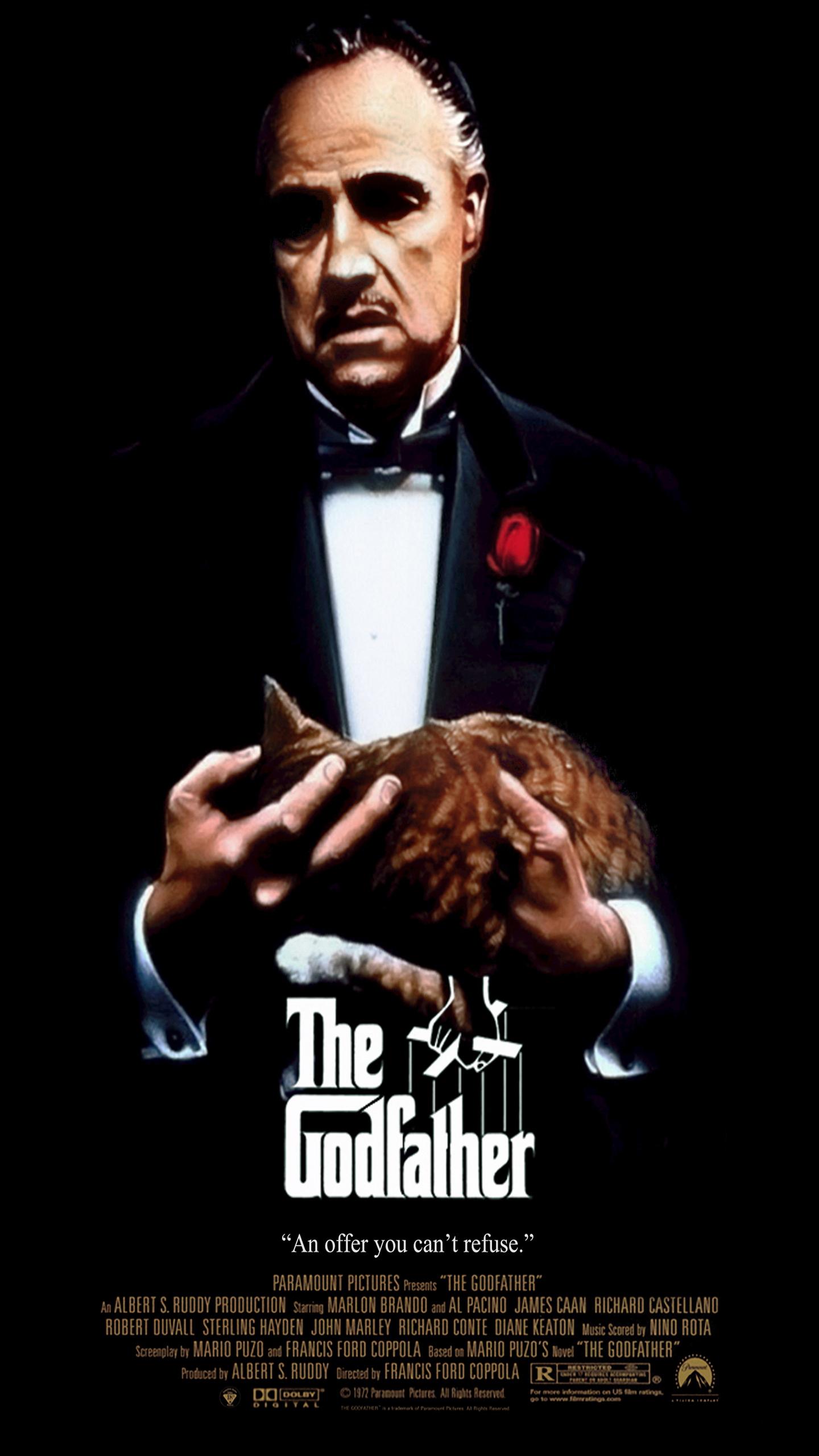 The Godfather HD Wallpaper - WallpaperSafari