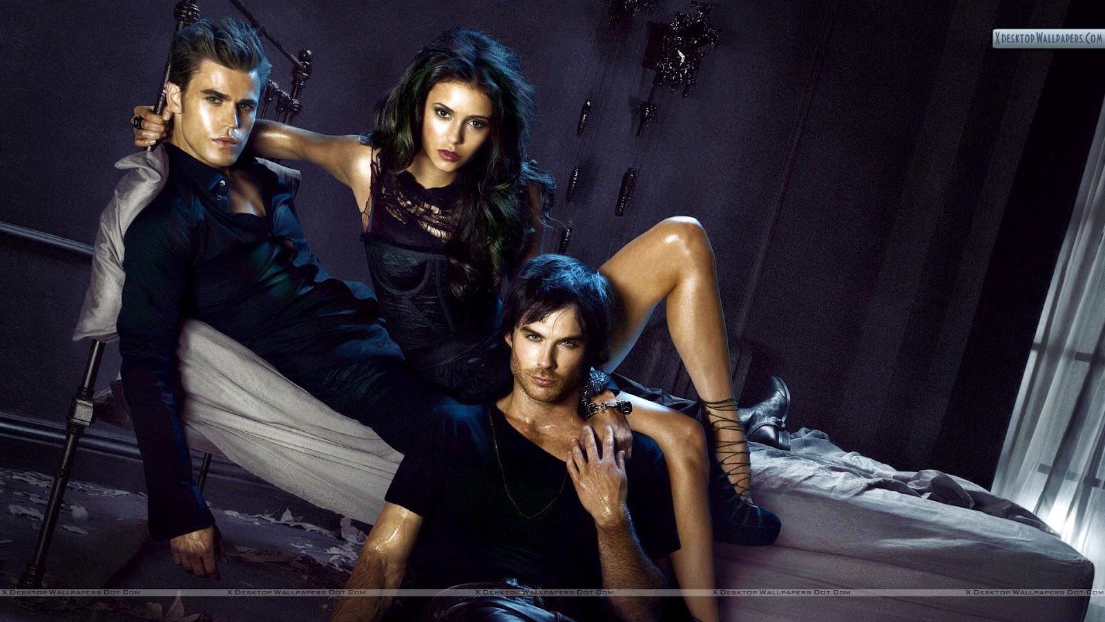 [78+] Vampire Diaries Wallpaper Damon on WallpaperSafari