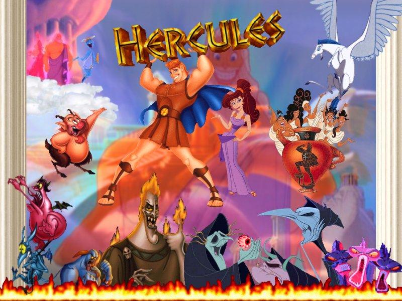Disney Hercules Wallpaper Wallpapersafari