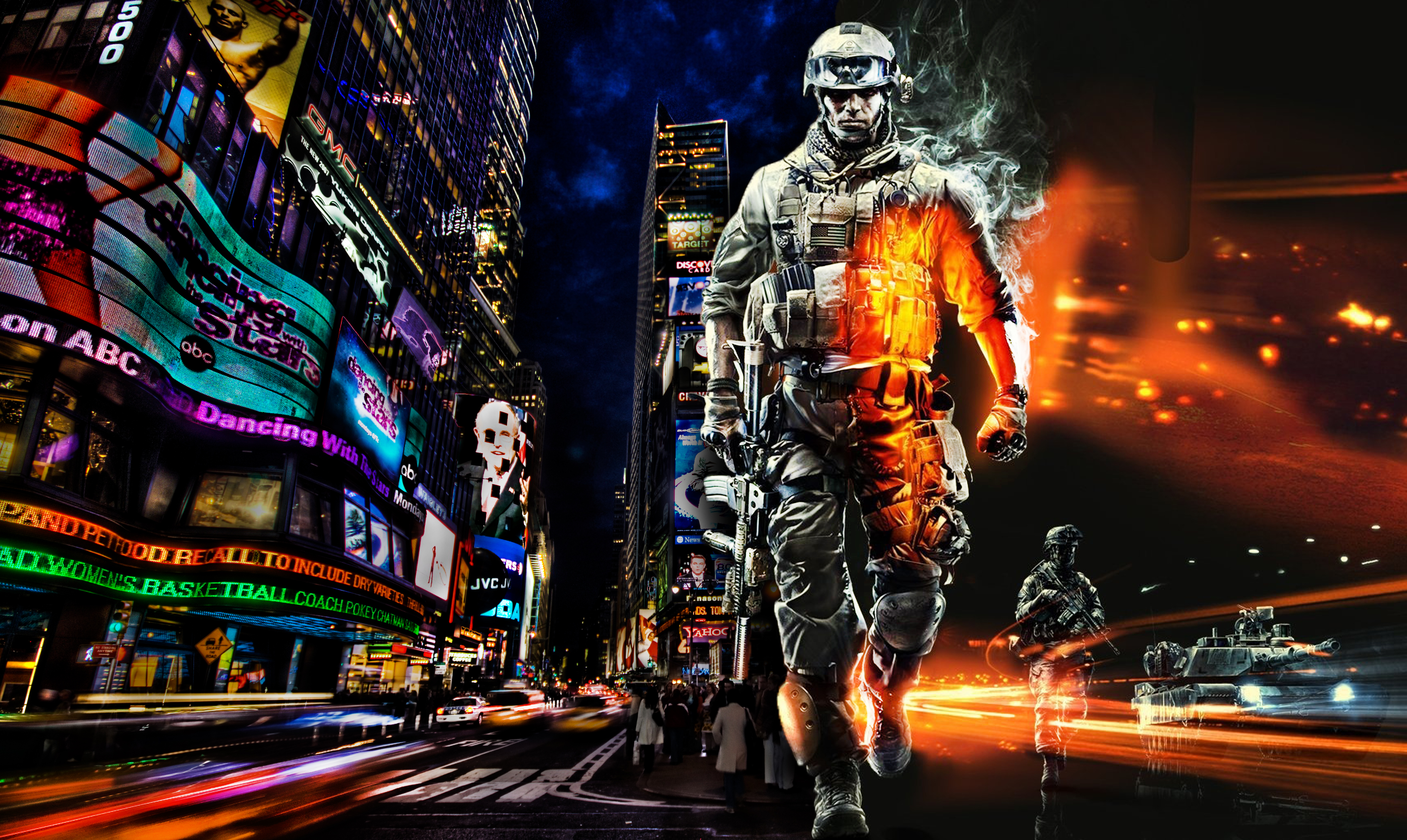 Times Square HD Wallpaper - WallpaperSafari