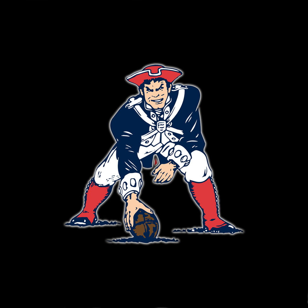 iPad Wallpapers with the New England Patriots Team Logos Digital 1024x1024