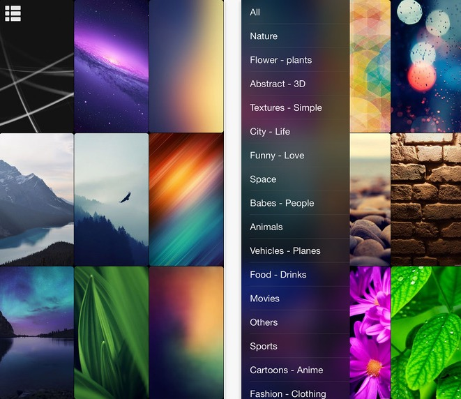Best Apps to Get iPhone 6 and iPhone 6 Plus Wallpapers 661x572