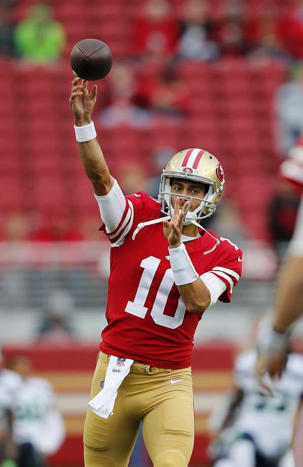 Garoppolo makes late game debut in 49ers 9th straight loss to 597x920