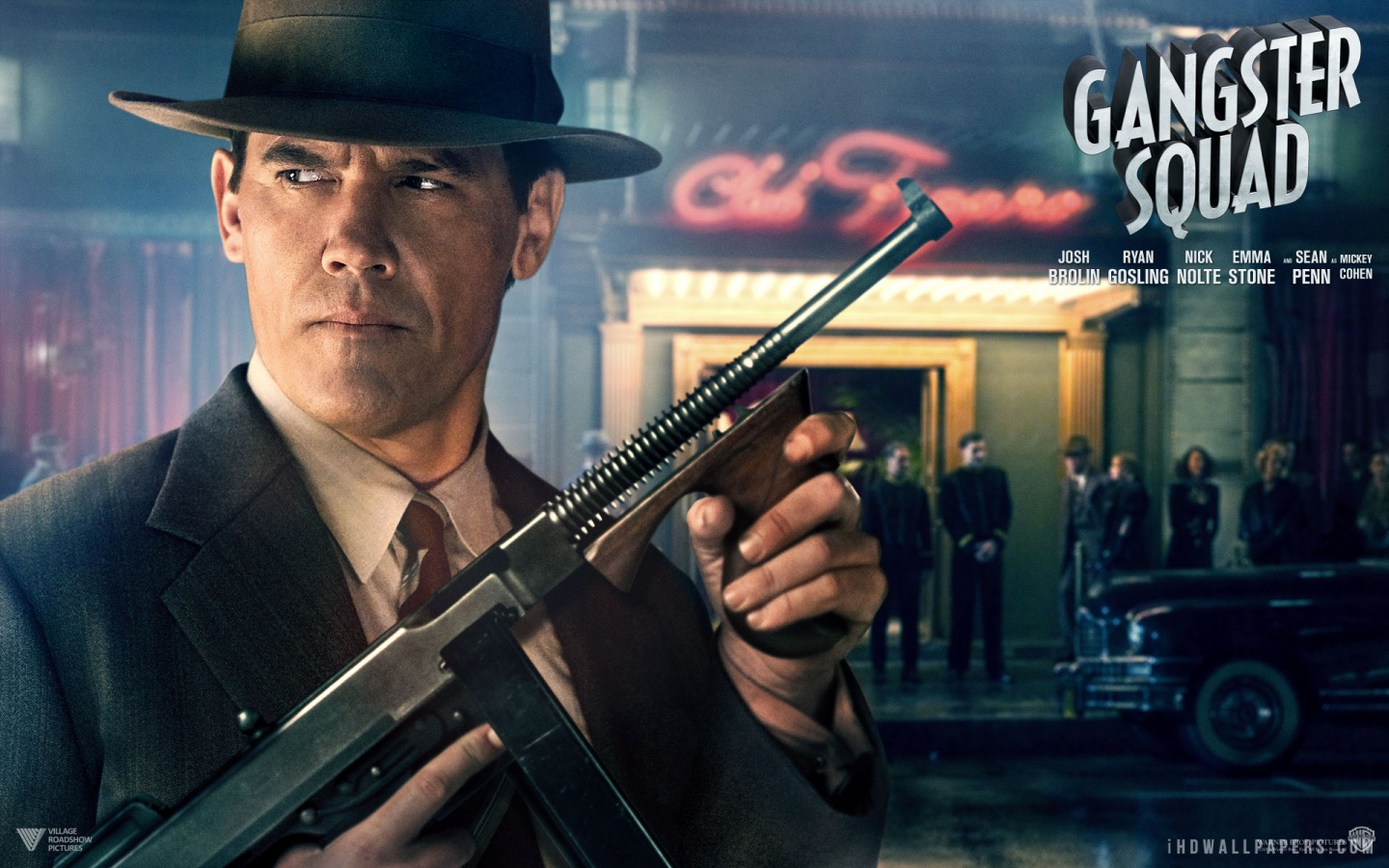 Gangster Squad Josh Brolin HD Wallpaper   iHD Wallpapers 1440x900