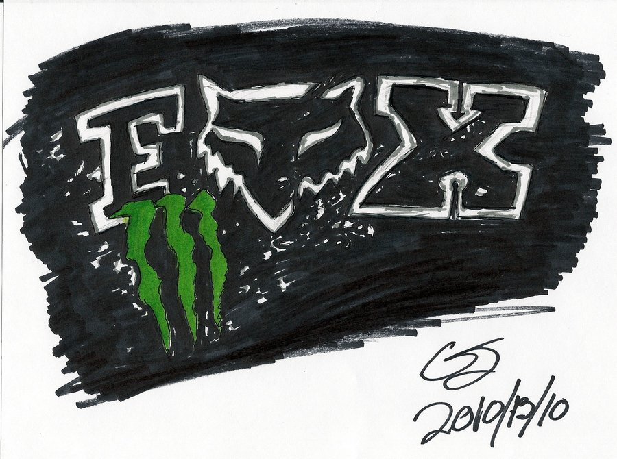 monster and fox logo wallpaper image search results 900x670