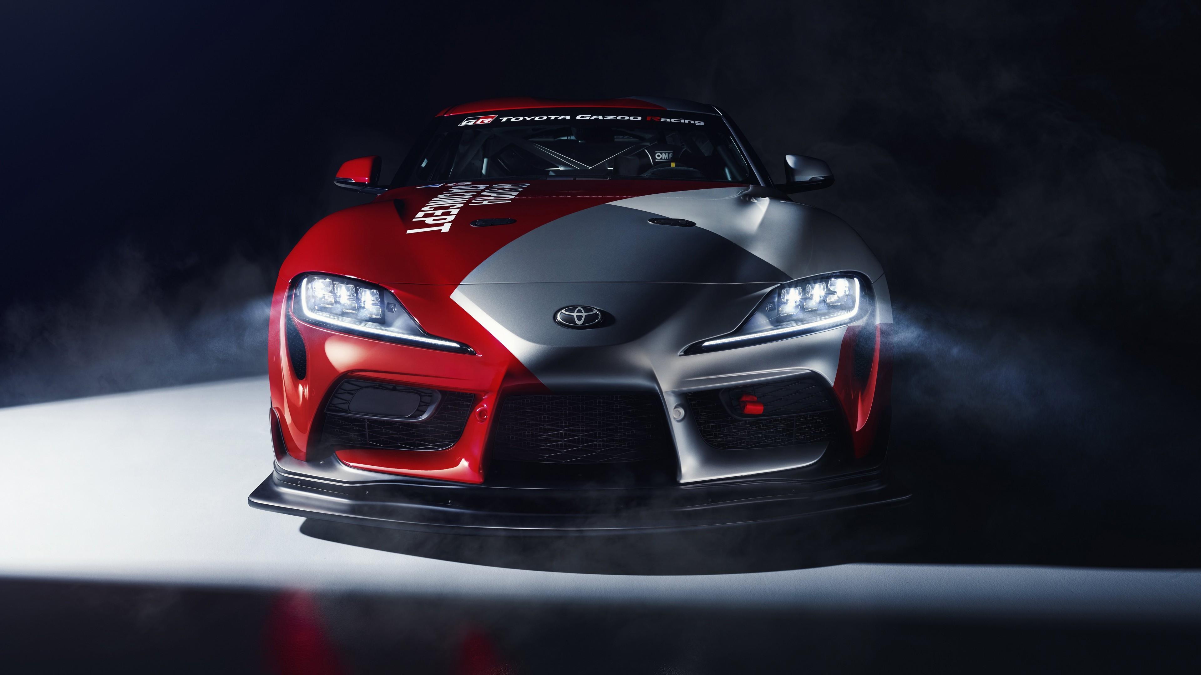 Download 3840x2160 Toyota Gr Supra Gt4 Racing Cars Concept 3840x2160