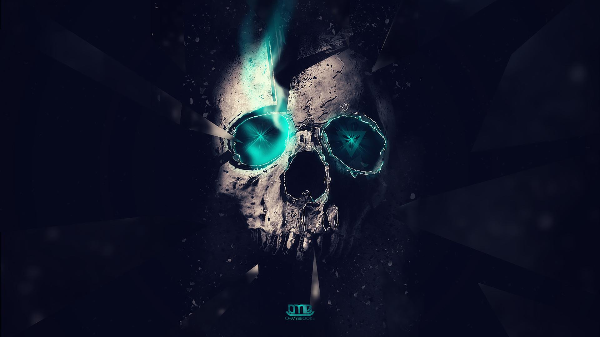 Skull Manipulation Wallpaper 1920x1080