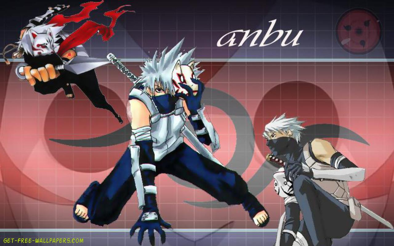 Download Anbu Kakashi Wallpaper 1280x800
