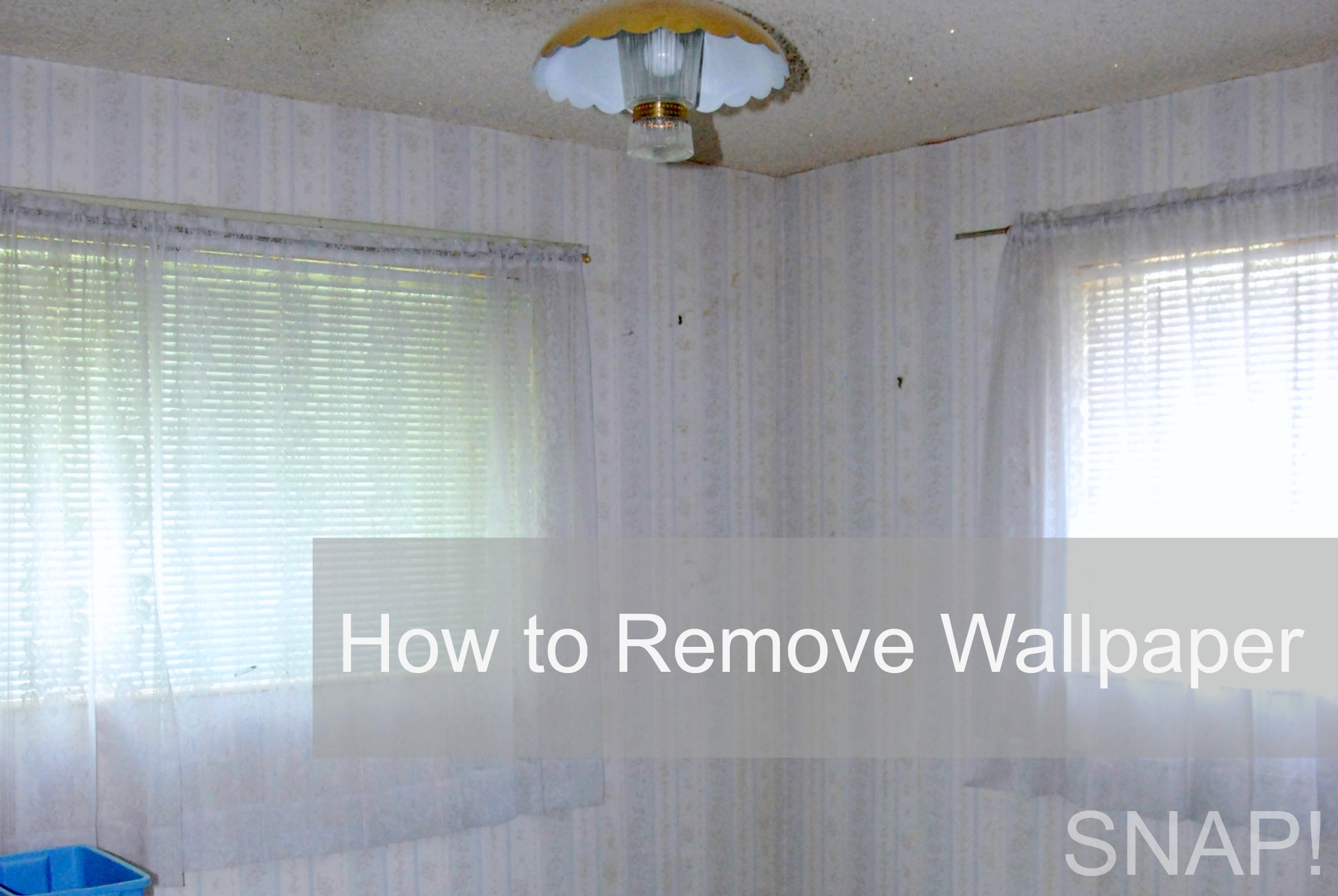 how to remove wallpaper glue from walls with vinegar