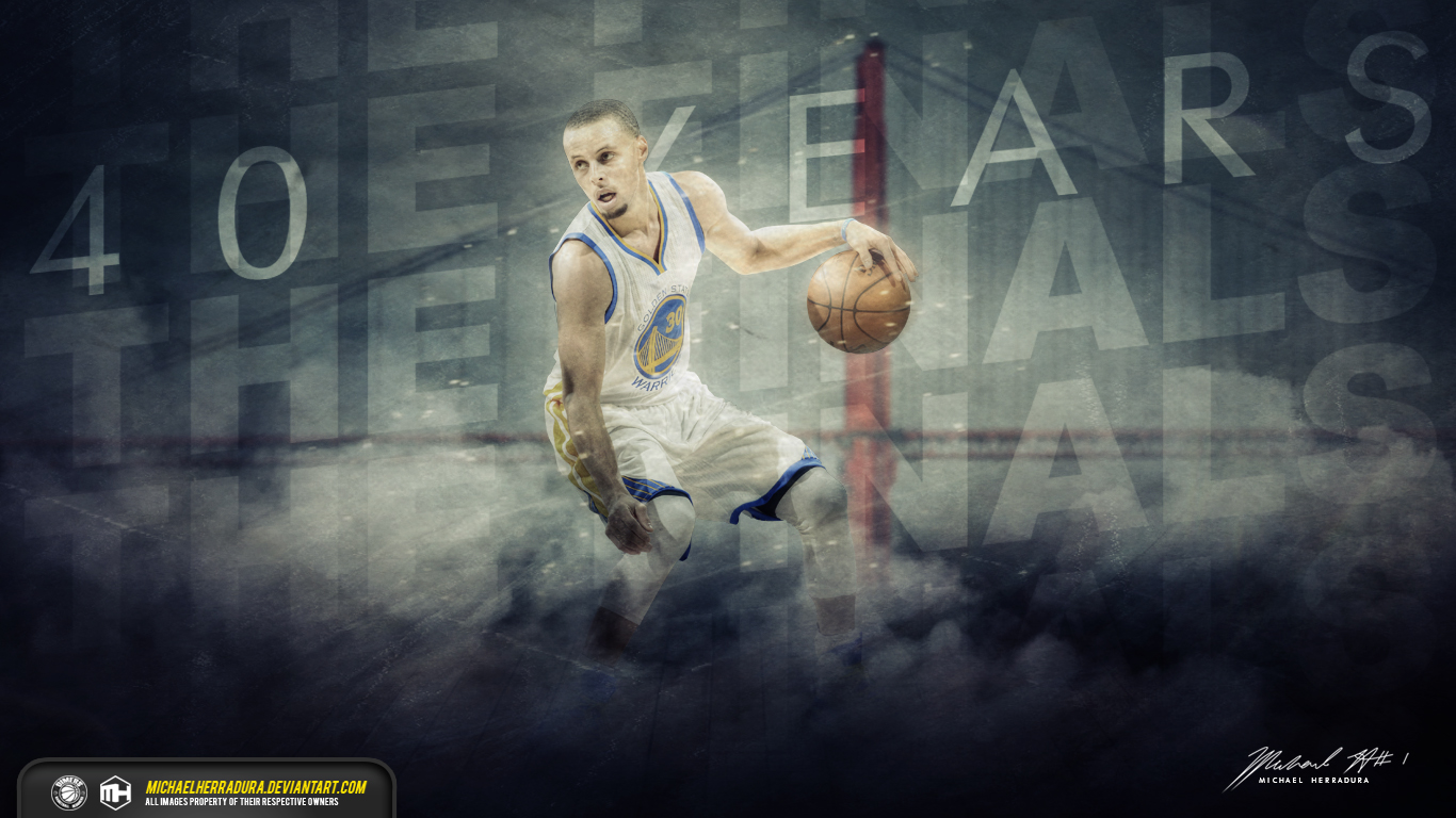 Stephen Curry The Finals wallpaper by michaelherradura 1366x768