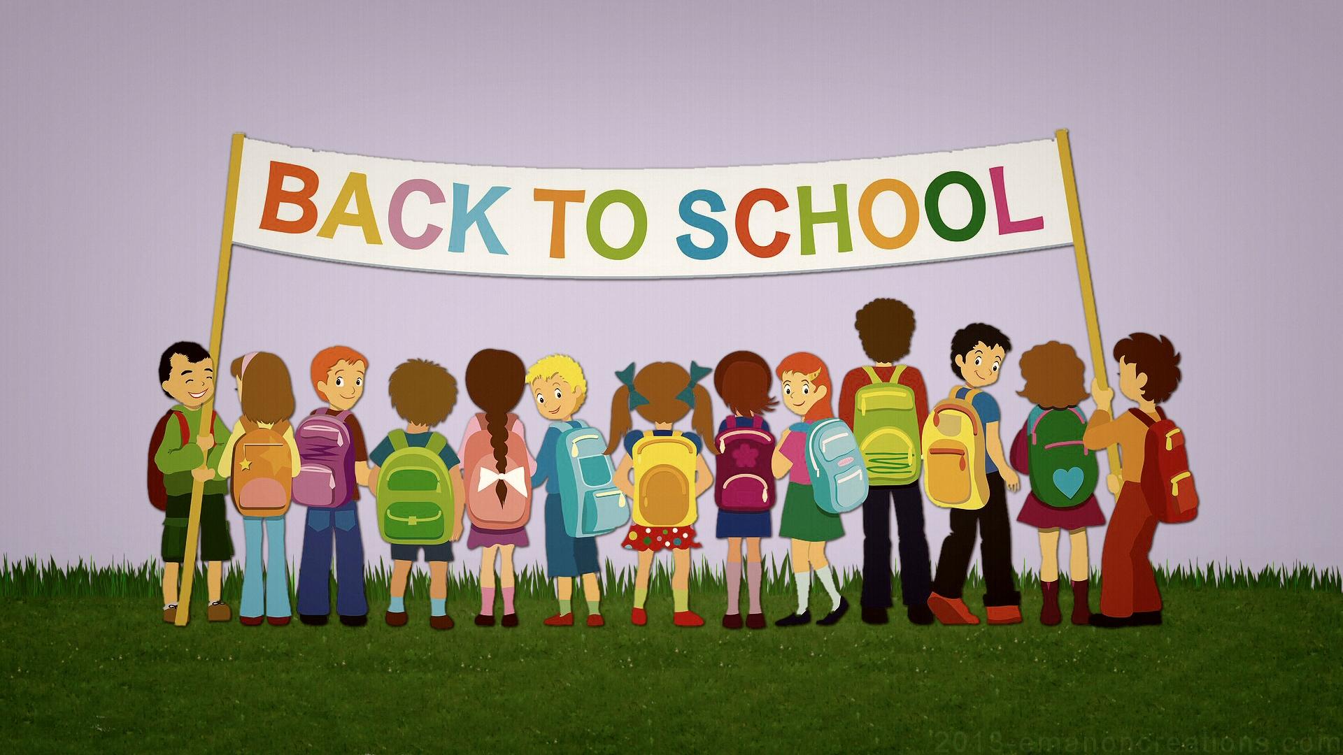 HD Back to School Wallpaper 1920x1080