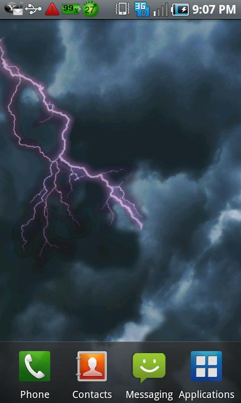 Live Lightning Wallpaper - WallpaperSafari