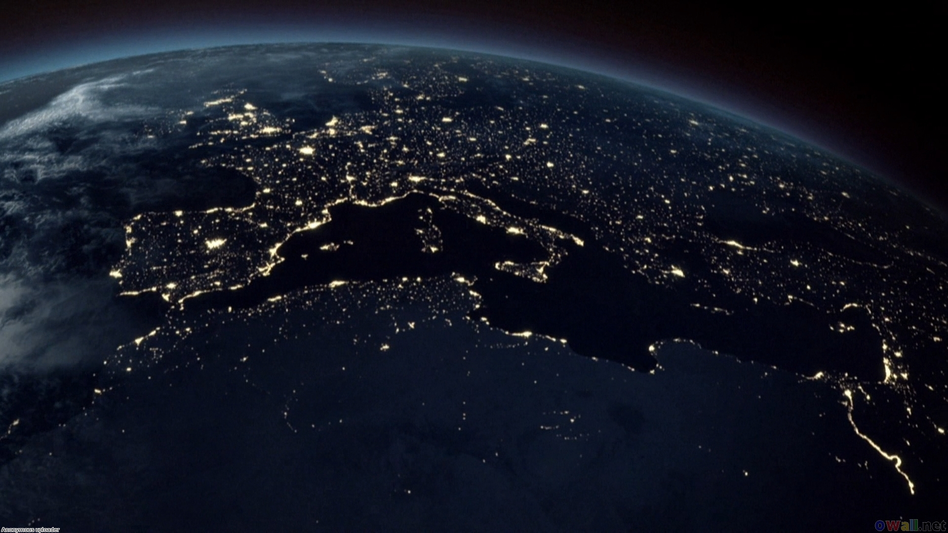 Earth from space hd wallpaper wallpapersafari - Earth hd images from space ...