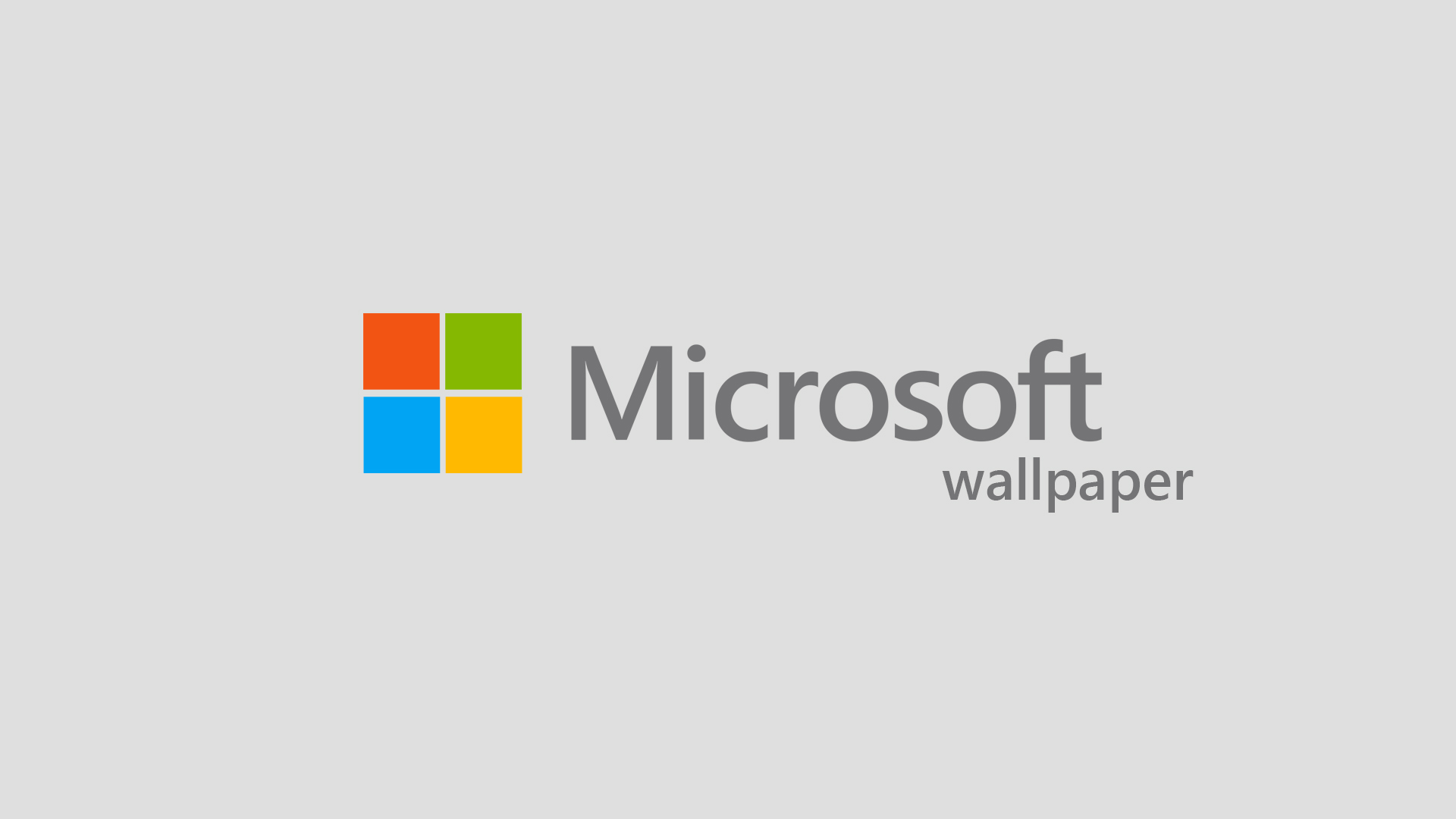 The New Microsoft Logo HD Desktop Mobile Wallpaper Background   9walls 1920x1080