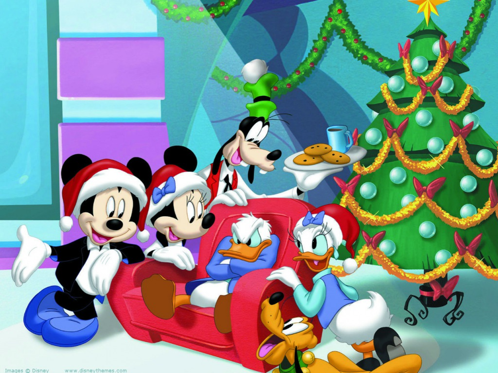 Mickey Mouse and Friends Wallpaper   Disney Wallpaper 34968379 1024x768