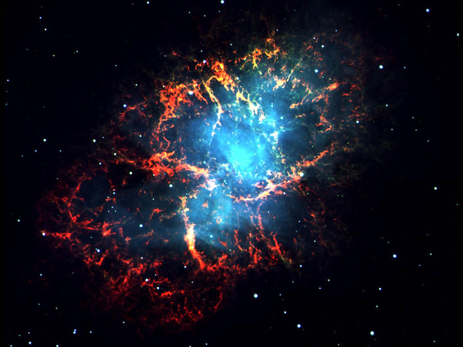 wallpapers Crab Nebula 1600x1200