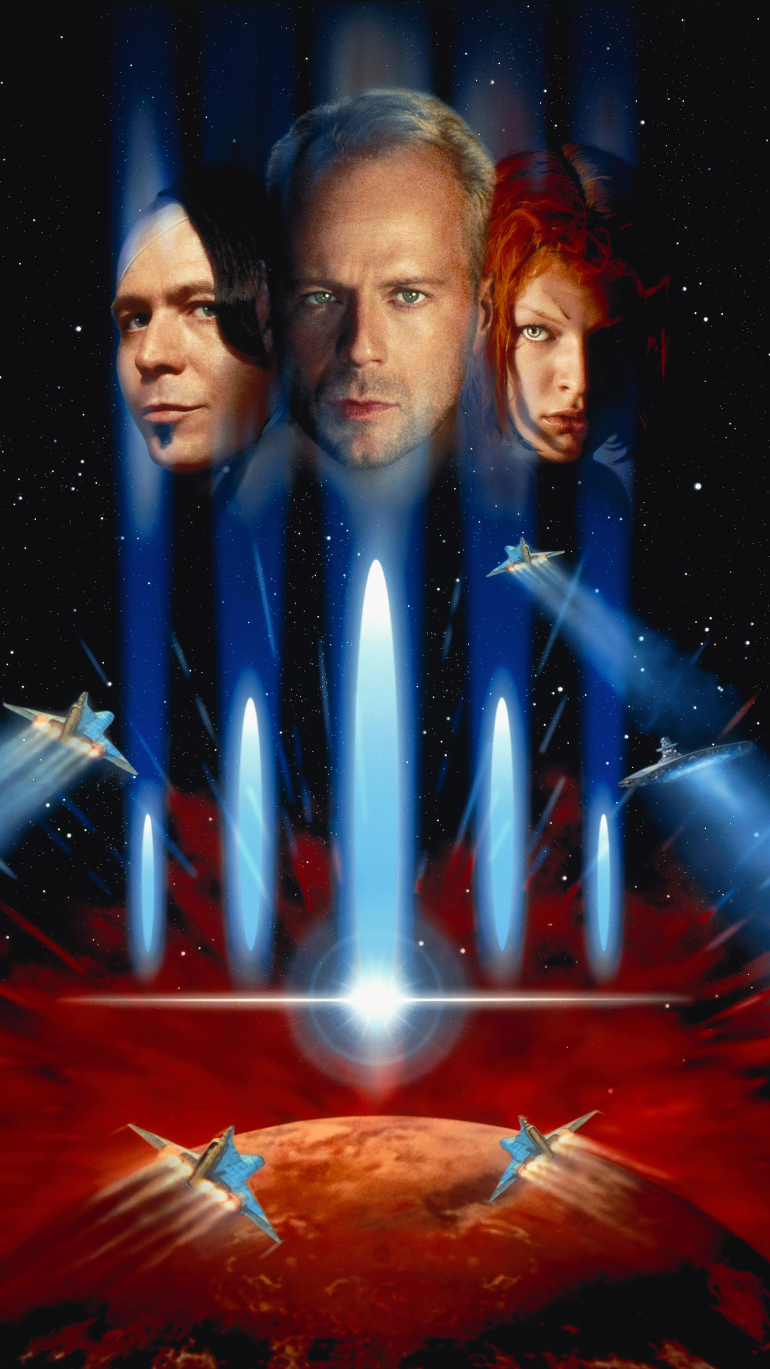 The Fifth Element 1997 Phone Wallpaper Moviemania 1536x2732