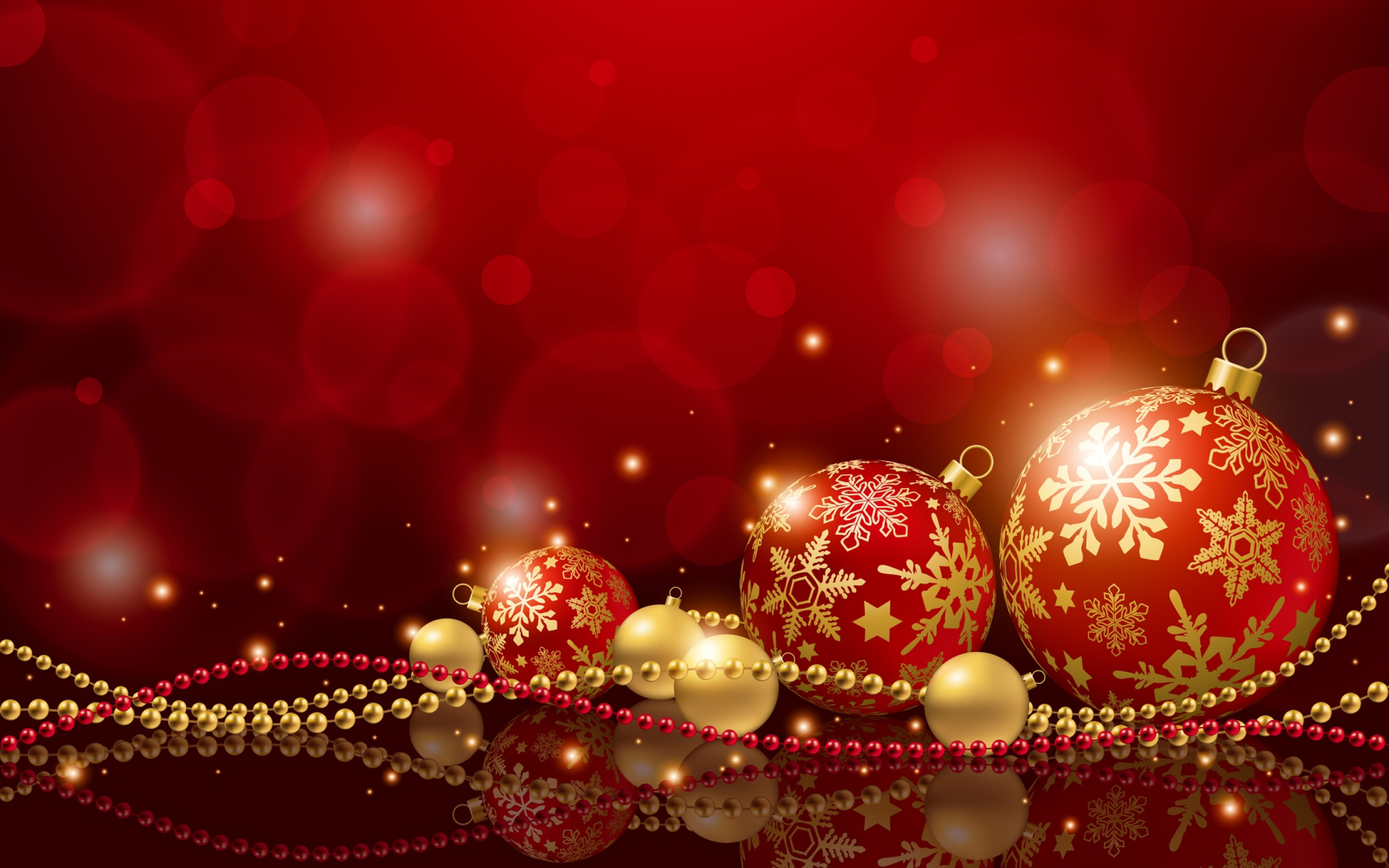 New Year Christmas Holiday wallpaper 2560x1600 26544 2560x1600