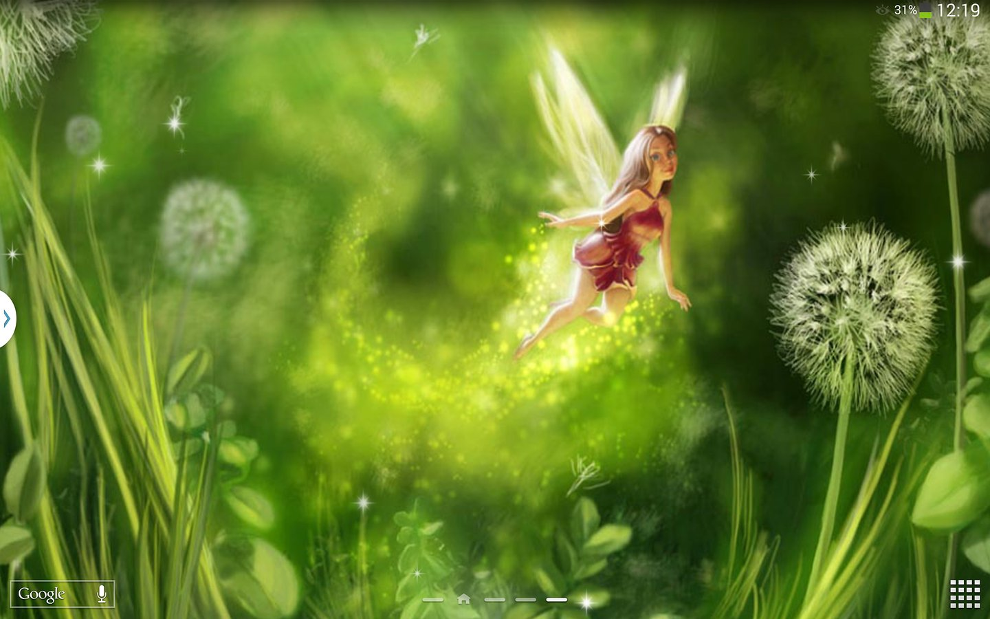 Fairy live wallpaper wallpapersafari - Fairy wallpaper for android ...