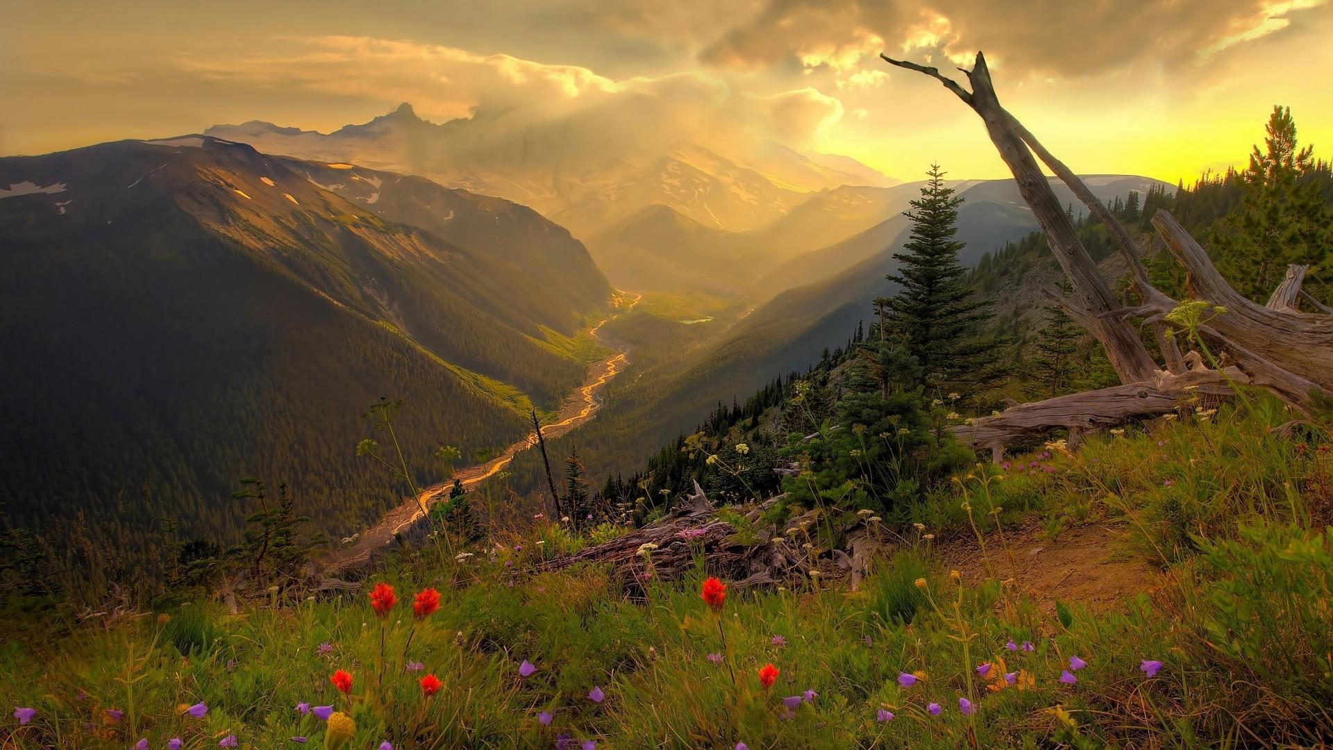 twilight time of day wallpaper 16221 PC en 1920x1080