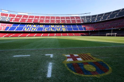 camp nou stadium barcelona stadium el camp nou barcelona home camp nou 525x350