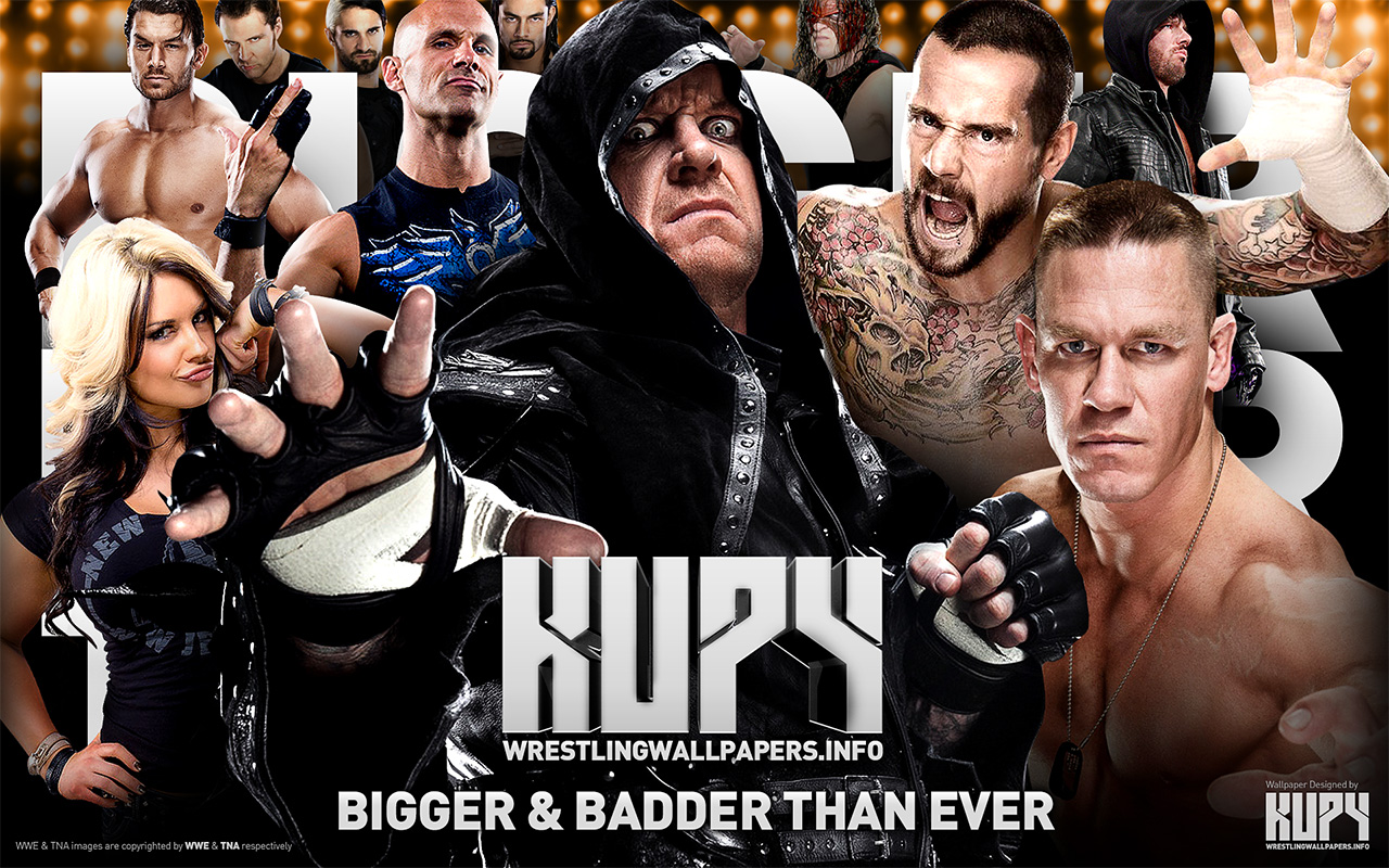 Bigger badder than ever Kupy Wrestling Wallpapers 1280x800