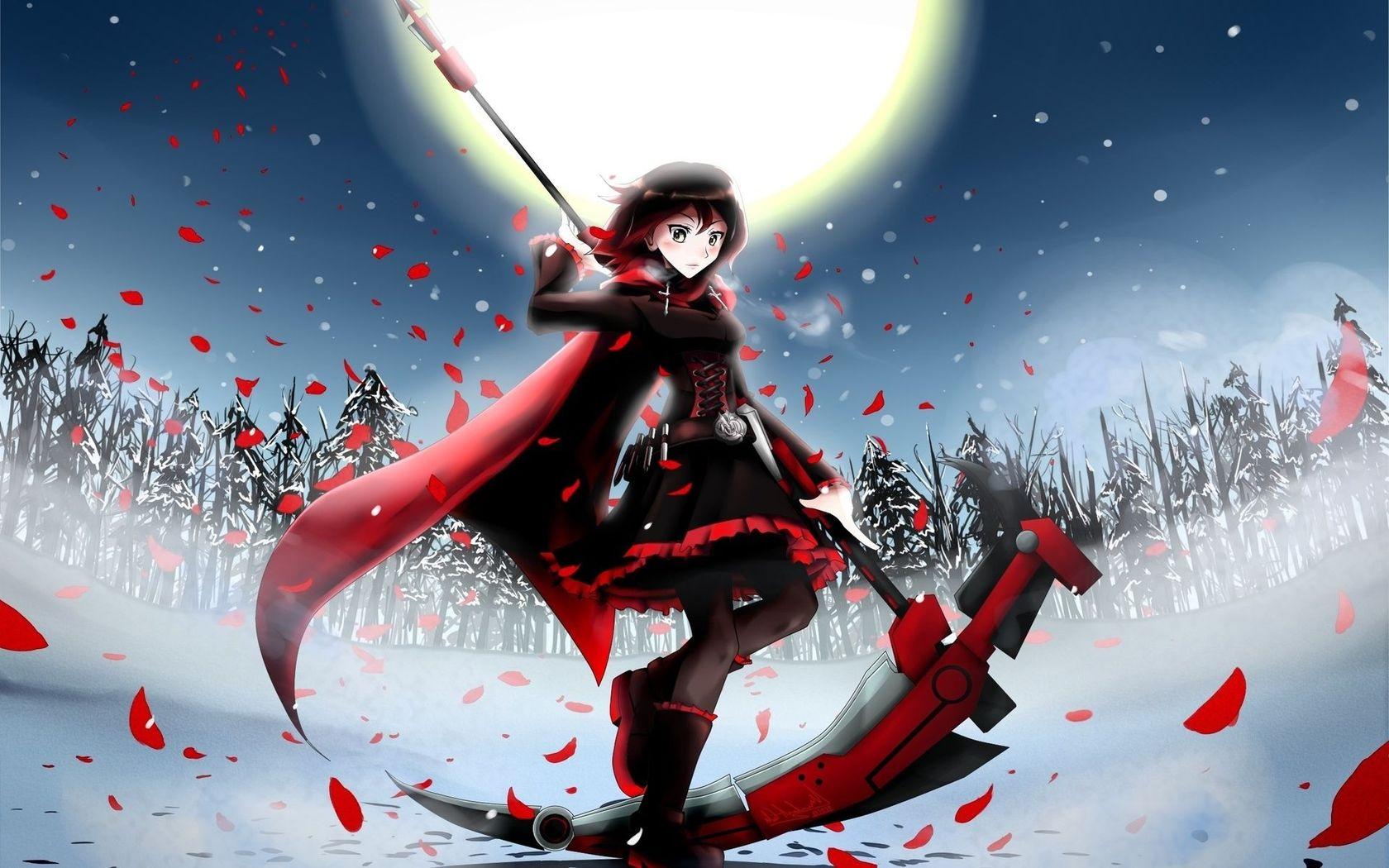 Ruby Rose   RWBY wallpaper 20708 1680x1050