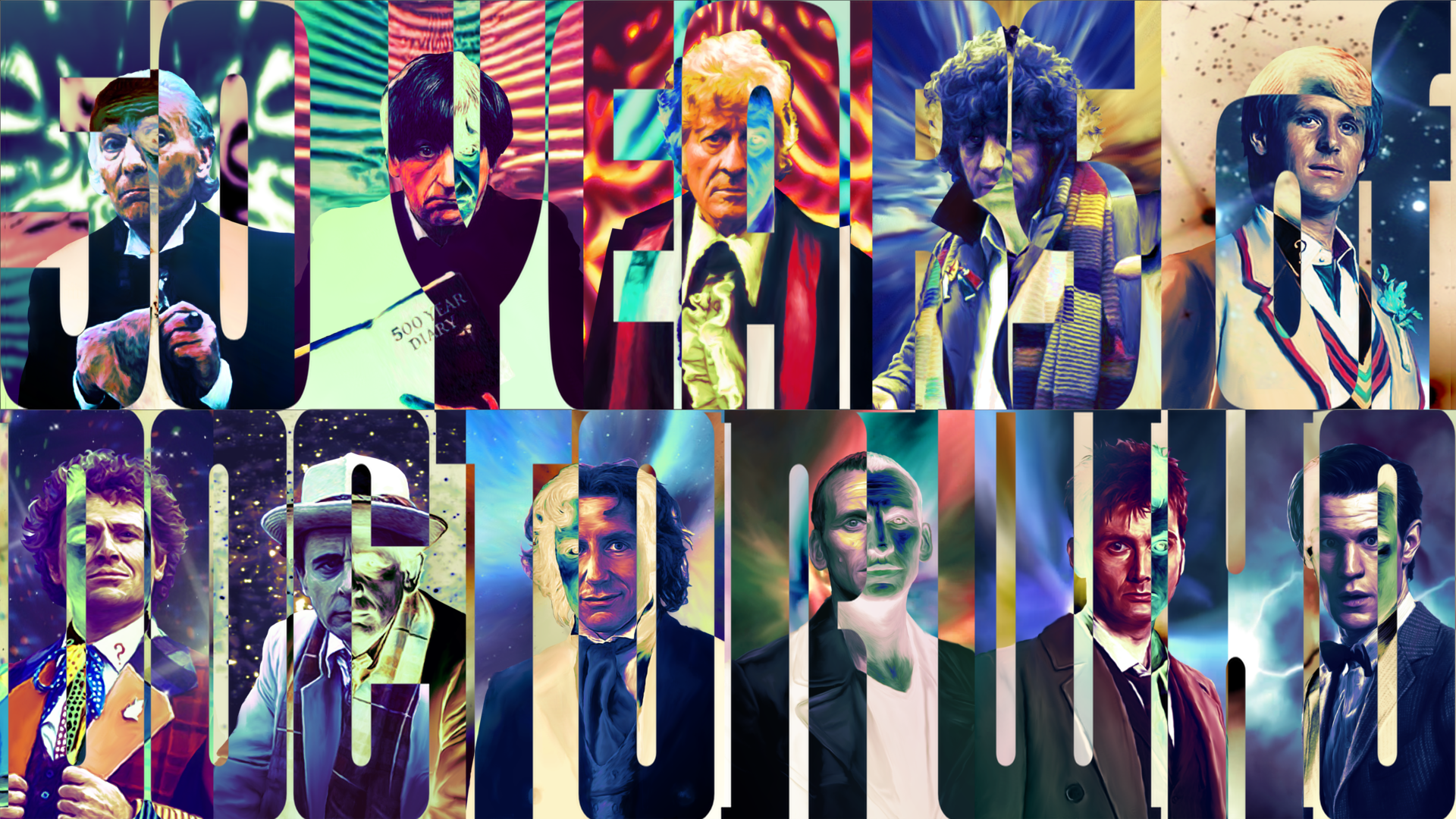 All Doctors Wallpaper Doctor who wallpaper v3 by 1920x1080